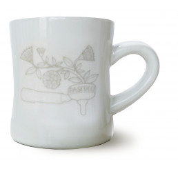 Porzellanbecher Mug Tattoo Braccetto