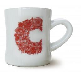 Porzellanbecher Mug CP floreale