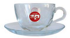 Cappuccino Tasse Glas 103