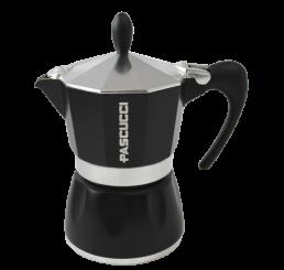 Caffettiera schwarz 3 Tassen
